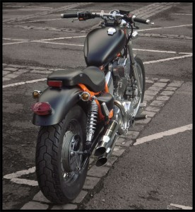 Virago XV 535 customisé