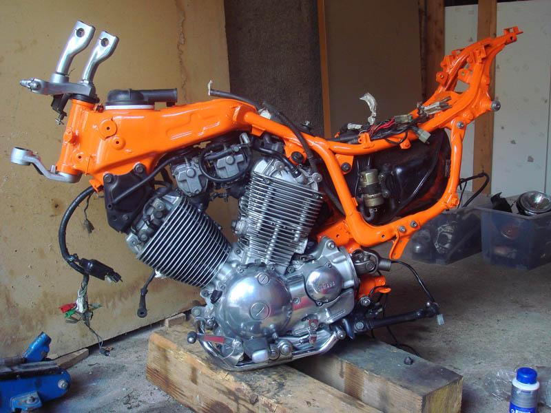 cadre virago orange
