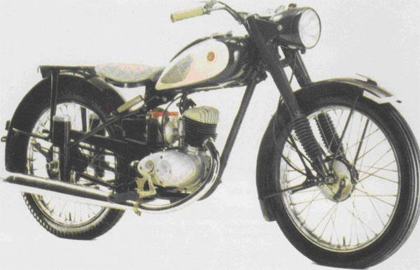 125 Yamaha YA1 de 1955